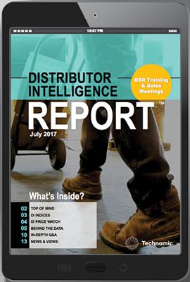 Distributor Intelligence Report