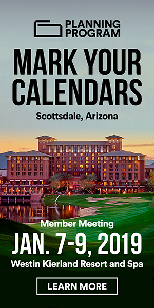 Foodservice Planning Program - Mark Your Calendars for January Member Meeting - Scottsdale, AZ