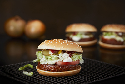 The 100% plant-based McVegan from McDonald's (https://www.flickr.com/photos/mcdonalds_sverige/)
